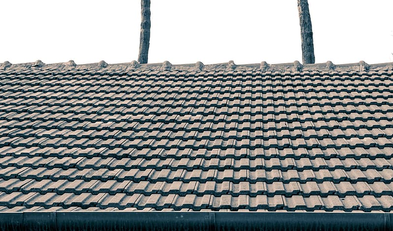 An image of roof replacement works in Huntington Beach, CA.