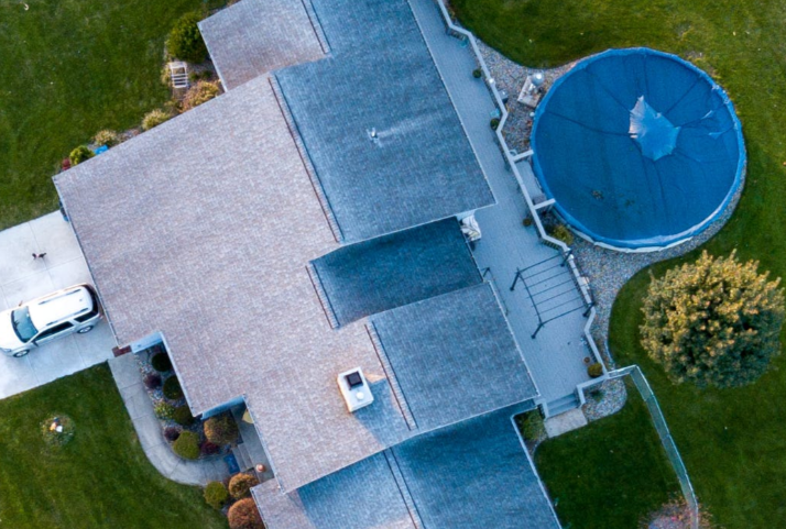 this image shows fiberglass roof in Huntington Beach