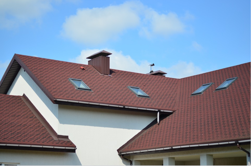 This image shows slate shingles roof in Huntington Beach, CA.