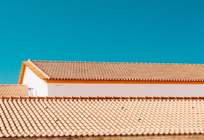 an image of tile roof in Huntington Beach, CA.